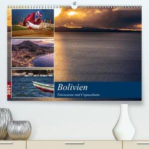 Bolivien - Titicacasee und Copacabana (Premium, hochwertiger DIN