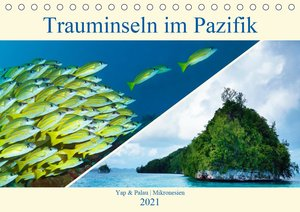Mikronesien: Yap und Palau (Tischkalender 2021 DIN A5 quer)