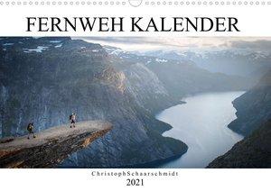 Fernweh Kalender (Wandkalender 2021 DIN A3 quer)