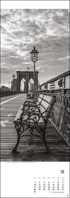 New York Vertical Kalender 2022