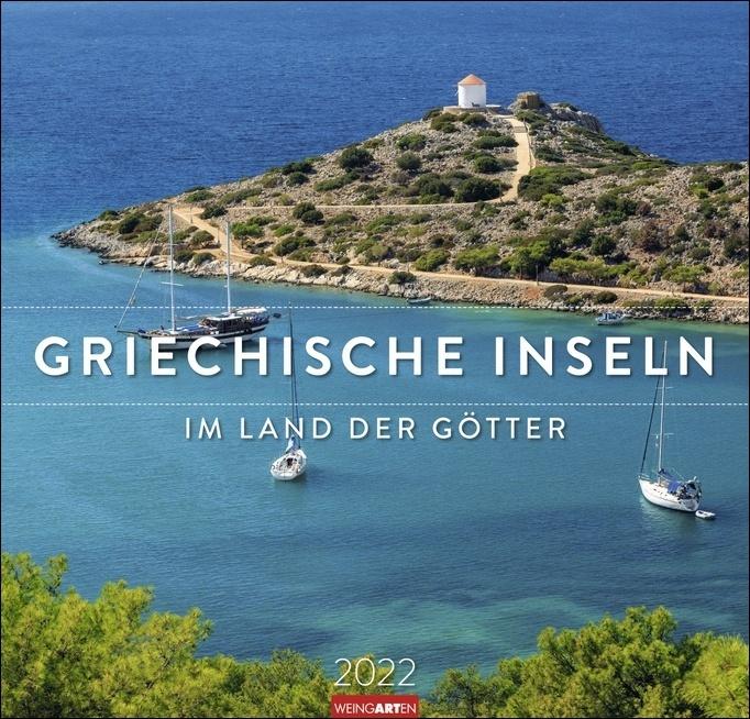 Griechische Inseln Kalender 2022