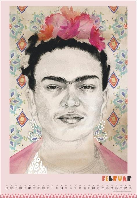 Frida Posterkalender 2022