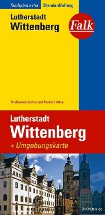 Falkplan Extra Lutherstadt Wittenberg