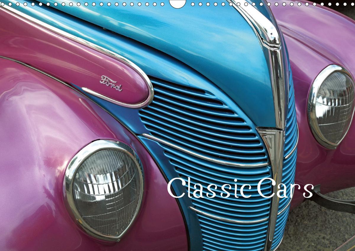 Classic Cars (Wandkalender 2021 DIN A3 quer)