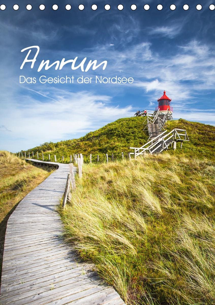 Amrum - Das Gesicht der Nordsee (Tischkalender 2021 DIN A5 hoch)