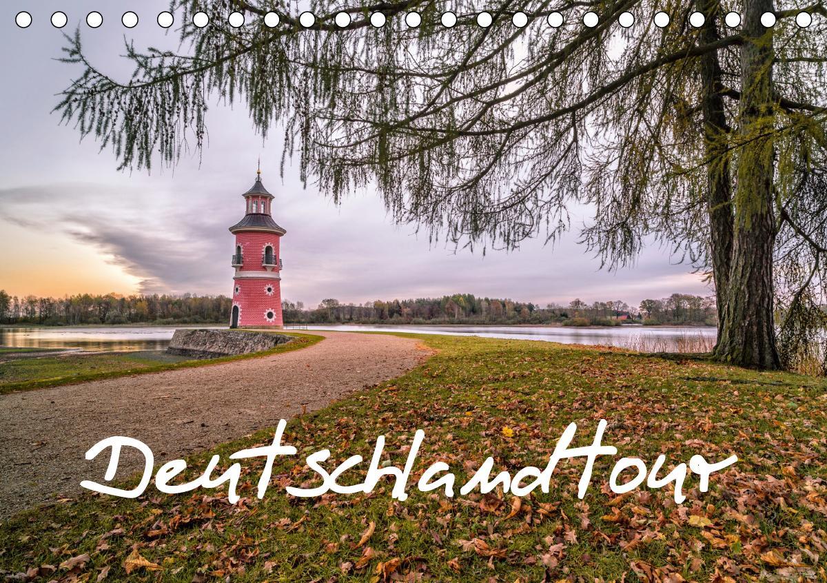 Deutschlandtour (Tischkalender 2021 DIN A5 quer)