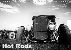 Hot Rods (Wandkalender 2021 DIN A4 quer)