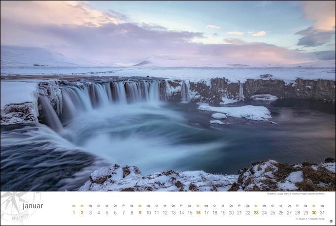 Island Globetrotter Kalender 2022