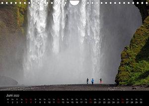 Island - Iceland (Wandkalender 2022 DIN A4 quer)