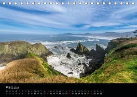 Die Oregon-Küste (Tischkalender 2021 DIN A5 quer)