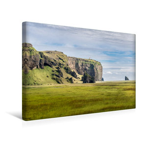 Premium Textil-Leinwand 45 cm x 30 cm quer Islands Süden