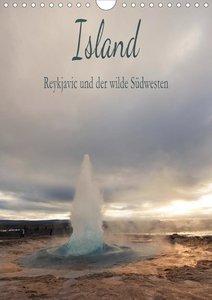 Island - Reykjavic und der wilde Südwesten (Wandkalender 2021 DI