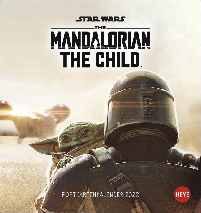 Mandalorian Postkartenkalender 2022