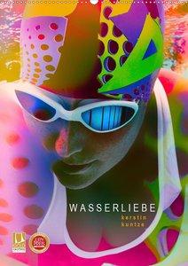 WASSERLIEBE (Wandkalender 2021 DIN A2 hoch)