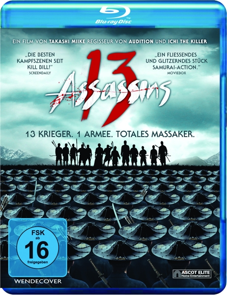13 Assassins-Blu-ray Disc