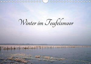 Winter im Teufelsmoor (Wandkalender 2021 DIN A4 quer)