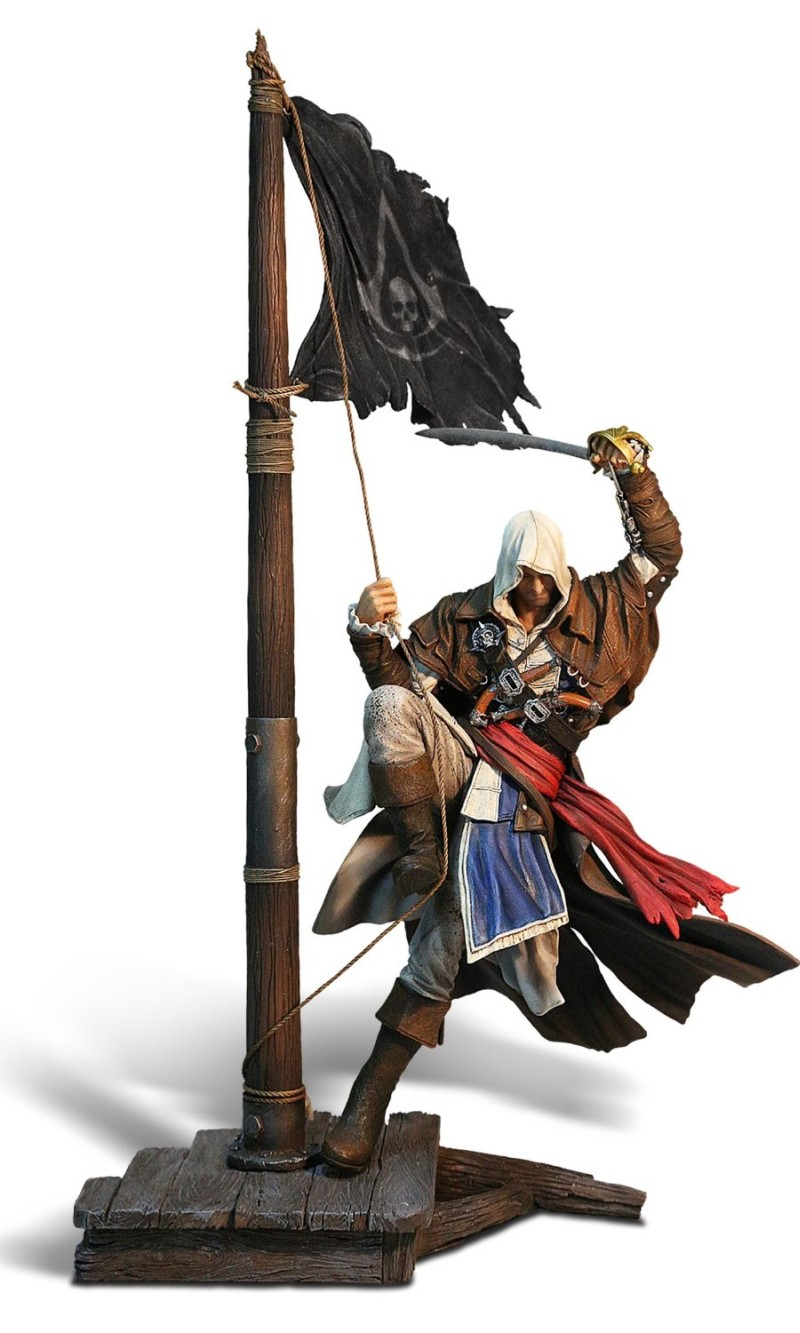 Assassins Creed 4 Black Flag - Figur Edward Kenway: Master of th