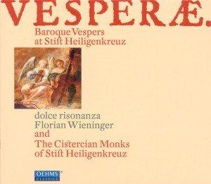 Vesperae. Baroque Vespers at Stift Heiligenkreuz / Barockvespern in Stift Heiligenkreuz, 1 Audio-CD