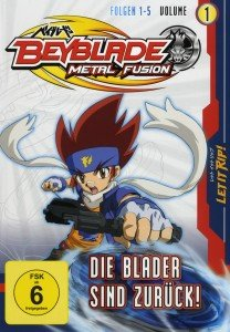 Beyblade Metal Fusion, 1 DVD. Vol.1