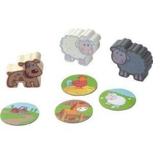 Haba 5584 - Erste Spielwelt: Bauernhof Spielfiguren, Schafherde