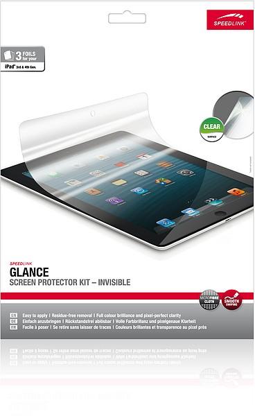 Speedlink SL-7110-CR GLANCE Screen Protector Kit - Invisible - B