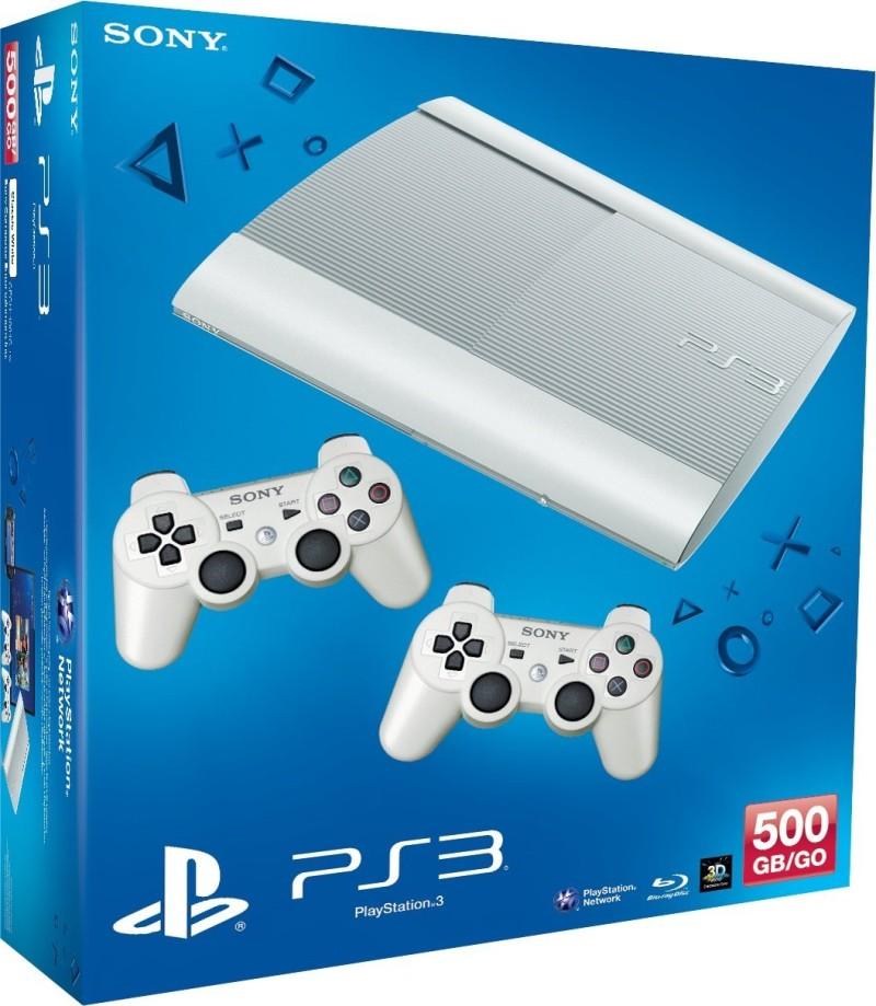 Sony Playstation 3 Konsole 500 GB inkl. 2 DualShock 3 Controller
