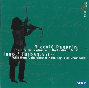 Turban/Shambadal/WDR RSO: Violinkonzerte 2+4