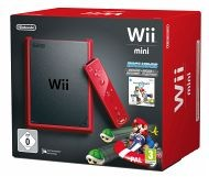 Nintendo Wii Mini Konsole - Mario Kart Bundle