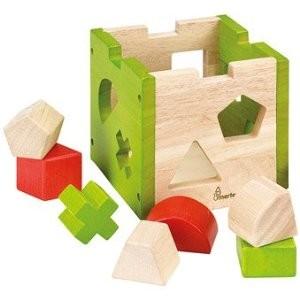 Bino 70407 - Steckbox Geometric