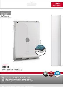 CURB Soft Protector Case, Schutzhülle für Apple iPad 3/4 frosted-klar