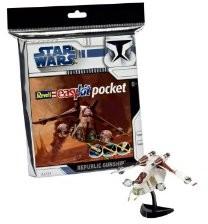 Revell 06729 - Star Wars: Republic Gunship, Steckbausatz easykit