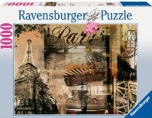 Nostalgisches Paris. Puzzle 1000 Teile