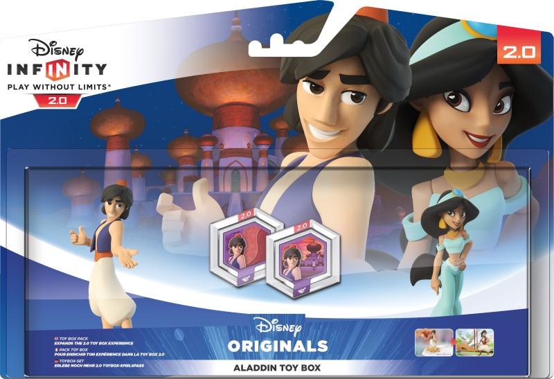 Disney Infinity 2.0 - Aladdin - Toybox Set