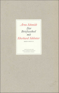 Der Briefwechsel mit Eberhard Schlotter