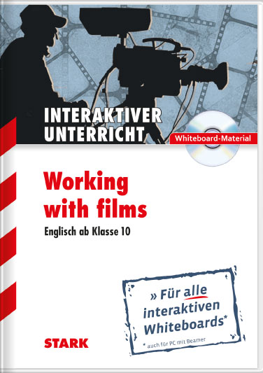 "Whiteboard-Anwendung Englisch Gymnasium ""Working with Films"" CD-"