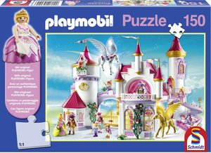 Im Prinzessinnenschloss, 150 Teile, Kinderpuzzle Playmobil mit F
