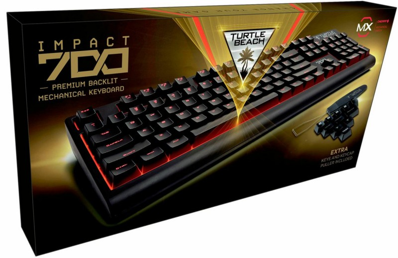 Turtle Beach IMPACT 700 Premium Backlit Mechanical Gaming Keyboa