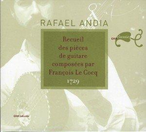 Andia, R: Pia¨ces pour guitare (1729)