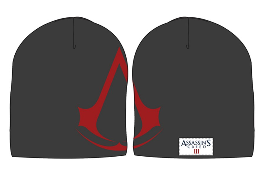 Assassins Creed III - Woven Logo Knit Jaquard Beanie with Patch