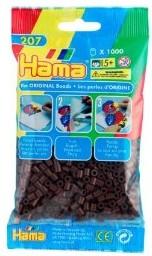 Hama 207-12 - Perlen braun, 1000 Stück