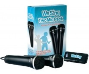 We Sing : 2 Mic Pack - inkl. 4 port USB Hub