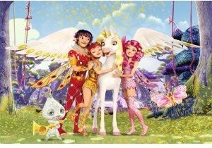 Onchao und seine Freunde, 150 Teile. Kinderpuzzle Mia & Me