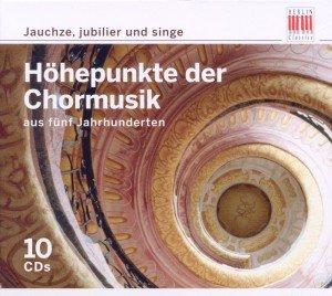 Choredition-Jauchze,Jubilier Und Singe (Box-Set)