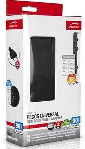 Speedlink SL-6955-BK PECOS UNIVERSAL 90W Notebook Power Adapter,
