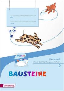 BAUSTEINE Sprachbuch 2. Übungsheft 2 VA mit CD-ROM