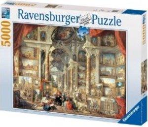 Ravensburger 17409 - Panini: Vedute di Roma Modern, 5000 Teile Puzzle