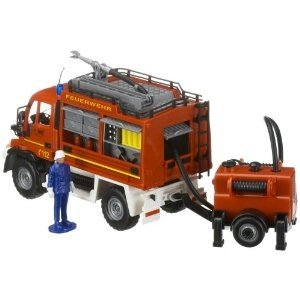 Dickie 203444823 - Feuerwehr Alarm-Unimog