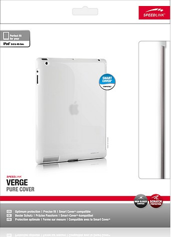Speedlink SL-7163-WE VERGE Pure Cover, Hartschale für Apple iPad