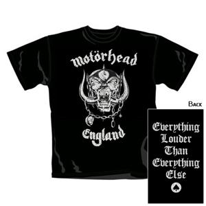 England (T-Shirt,Schwarz,Größe L)