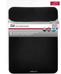 LEAF Easy Cover Sleeve, 12.2 inch, black